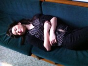 Miranda Cosgrove - Very cute napping in Memphis!