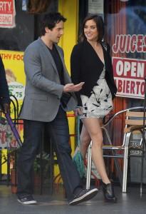 Джессика Строуп, фото 973. Jessica Stroup Set of 90210, LA - 22.11.2011, foto 973