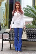 Amy Childs shopping and filming a reality show in Beverly Hills, 11 December, x170