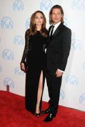 Анджелина Джоли, фото 7469. Angelina Jolie - Producers Guild awards, january 21, foto 7469