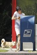 Сельма Блэйр, фото 11. Selma Blair 'Walking her Dog in L.A.' August, photo 11