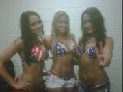 Kelly Kelly and The Bella's-All Wet  in the shower